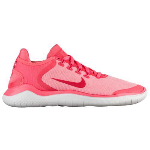 (取寄)ナイキ レディース スニーカー ランニングシューズ フリー RN 2018 Nike Women's Free RN 2018 Sea Coral Tropicana Pink Vast Grey