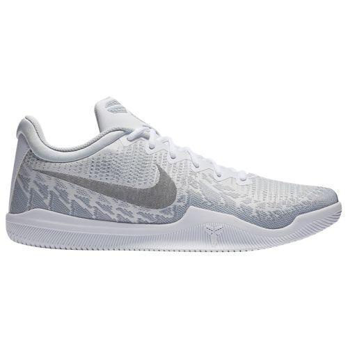 (取寄)ナイキ メンズ バッシュ マンバ レイジ コービー ブライアント バスケットボール Nike Men's Mamba Rage Kobe Bryant White Black Pure Platinum Wolf Grey