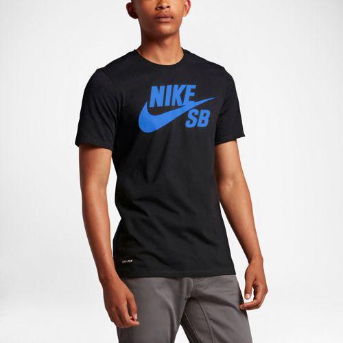 7daa700d574115 JETRAG Rakuten Ichiba Shop  (order) Nike men S bead rye fitting short  sleeve logo T-shirt Nike Men s SB Dri-FIT Short Sleeve Logo T-Shirt Black  Hyper Royal ...