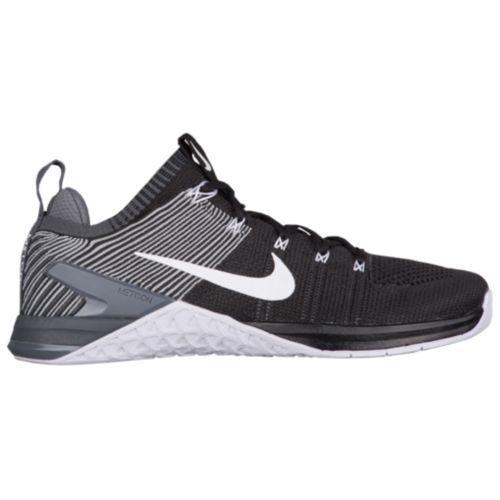 (取寄)ナイキ メンズ スニーカー トレーニングシューズ メトコン DSX フライニット 2 Nike Men's Metcon DSX Flyknit 2 Black White Dark Grey Wolf Grey