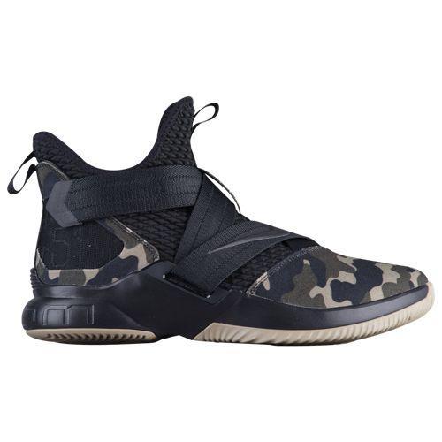 (取寄)ナイキ メンズ バッシュ スニーカー ソルジャー 12 SFG レブロン ジェームズ バスケットシューズ Nike Men's Soldier XII SFG Lebron James Black Hazel Rush