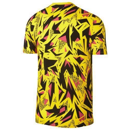9545f1b7 (order) Nike men 90's AOP T-shirt Nike Men's 90's AOP T-Shirt Dynamic Pink  White
