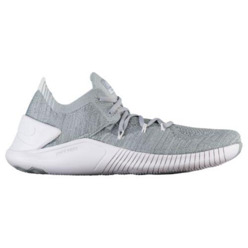 (取寄)ナイキ レディース スニーカー トレーニングシューズ フリー TR フライニット 3 Nike Women's Free TR Flyknit 3 Wolf Grey White