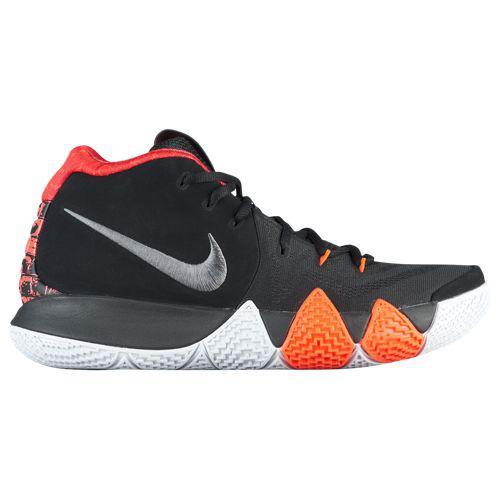 (取寄)ナイキ メンズ スニーカー バッシュ カイリー 4 カイリー アービング バスケットボール Nike Men's Kyrie 4 Kyrie Irving Black Dark Grey