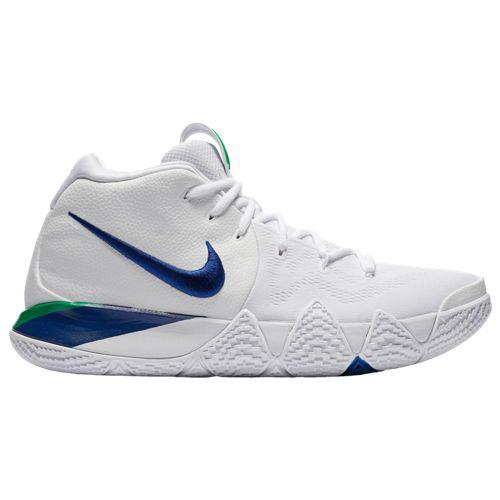 (取寄)ナイキ メンズ スニーカー バッシュ カイリー 4 カイリー アービング バスケットシューズ Nike Men's Kyrie 4 Kyrie Irving White Deep Royal