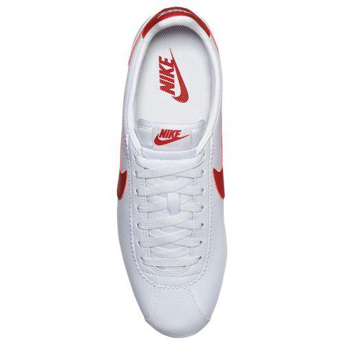 half off 82a0d 13d81 (order) ナイキメンズコルテッツ LE sneakers Nike Men's Cortez LE White Red Blue