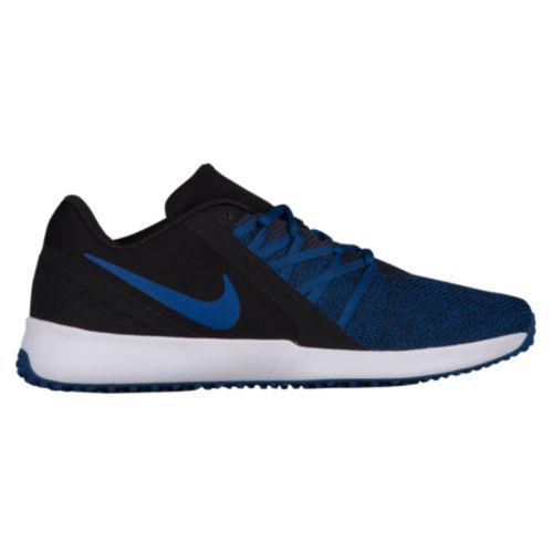 (取寄)ナイキ メンズ バーシティ コンピート トレーナー トレーニングシューズ Nike Men's Varsity Compete Trainer Black Gym Blue