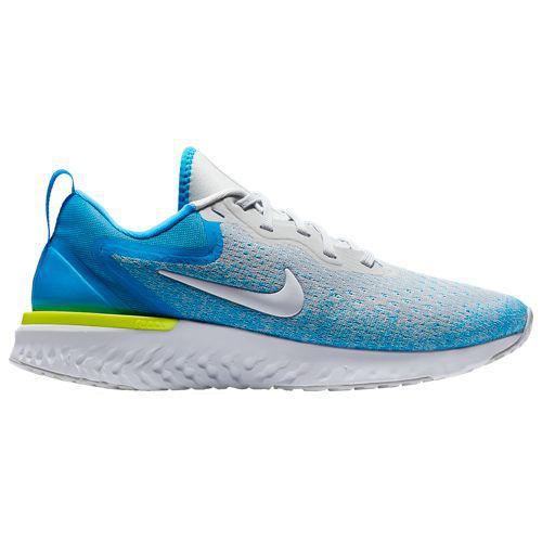(取寄)ナイキ レディース スニーカー ランニングシューズ オデッセイ リアクト トレーニングシューズ Nike Women's Odyssey React Wolf Grey White Blue Hero Volt Glow