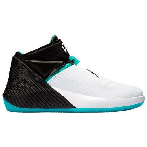efb7a0510a8a2e (order) Jordan men sneakers Y knot zero one raschel Westbrook Jordan Men s  Why Not Zero.1 Russell Westbrook White Black Hyper Jade