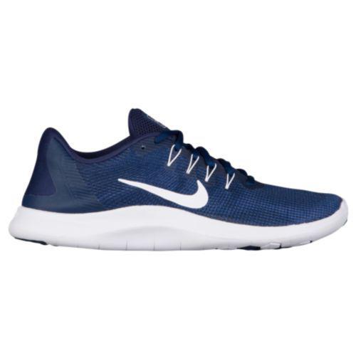 (取寄)ナイキ メンズ スニーカー フレックス ラン 2018 ランニングシューズ Nike Men's Flex Run 2018 Midnight Navy White Blue Recall