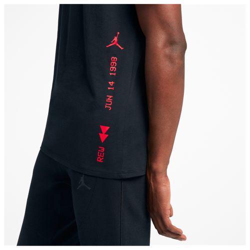 e21e38766c9397 (order) Jordan men gap fatty tuna 14 ショットヴァヴィッジ T-shirt Jordan Men s Retro  14 Last Shot Verbiage T-Shirt Black