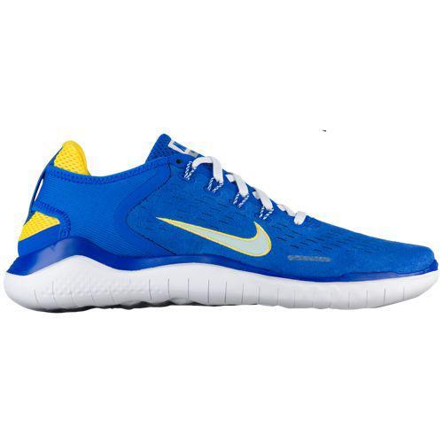(取寄)ナイキ メンズ スニーカー フリー RN 2018 DNA ランニングシューズ Nike Men's Free RN 2018 DNA Hyper Cobalt Citron Tint White