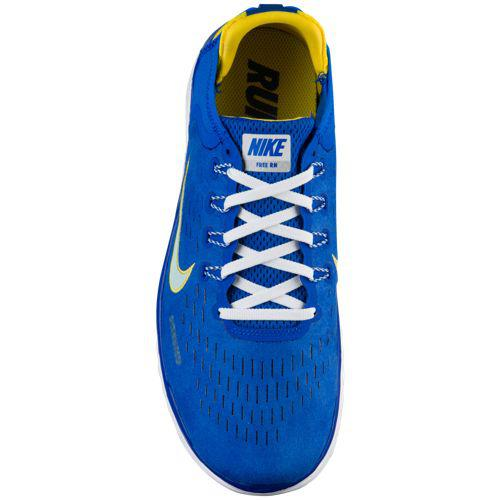 4762cfa6fb7 (order) Nike men sneakers-free RN 2018 DNA running shoes Nike Men s Free RN  2018 DNA Hyper Cobalt Citron Tint White