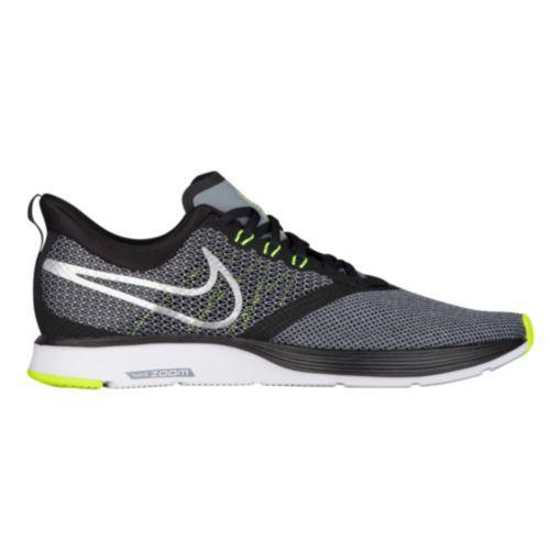 (取寄)ナイキ メンズ スニーカー ランニングシューズ ズーム ストライク Nike Men's Zoom Strike Black Metallic Silver Cool Grey Volt