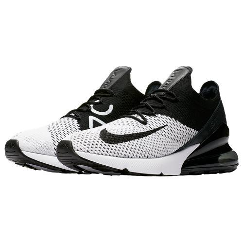 f1ba7d8555 (order) Nike men Air Max 270 fried food knit Nike Men's Air Max 270 Flyknit  White Black Anthracite