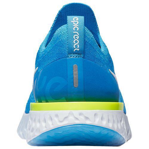 cd48324df420 (order) Nike men epic re-act fly knit Nike Men s Epic React Flyknit Blue  Glow White Blue Volt Glow