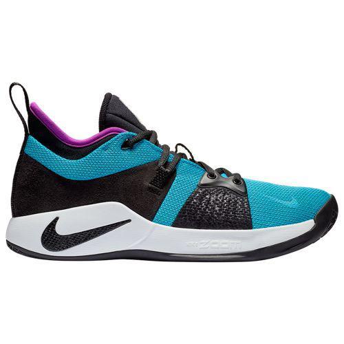 (取寄)ナイキ メンズ バッシュ PG 2 ポール ジョージ バスケットシューズ Nike Men's PG 2 Paul George Blue Lagoon Hyper Violet White