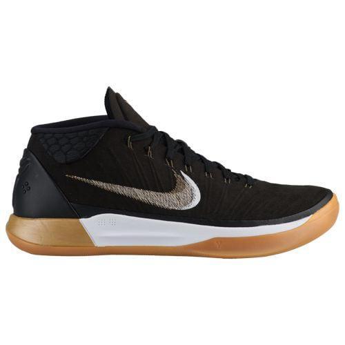 (取寄)ナイキ メンズ バッシュ コービー A.D. コービー ブライアント バスケットシューズ Nike Men's Kobe A.D. Kobe Bryant Black Metallic Gold Anthracite Light Gum