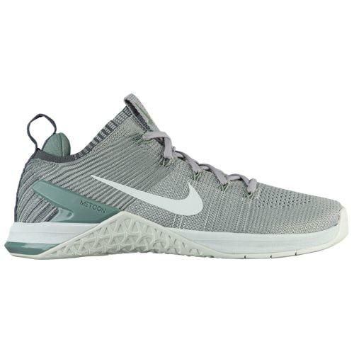 (取寄)ナイキ レディース スニーカー トレーニングシューズ メトコン DSX フライニット 2 Nike Women's Metcon DSX Flyknit 2 Matte Silver Barely Grey Clay Green