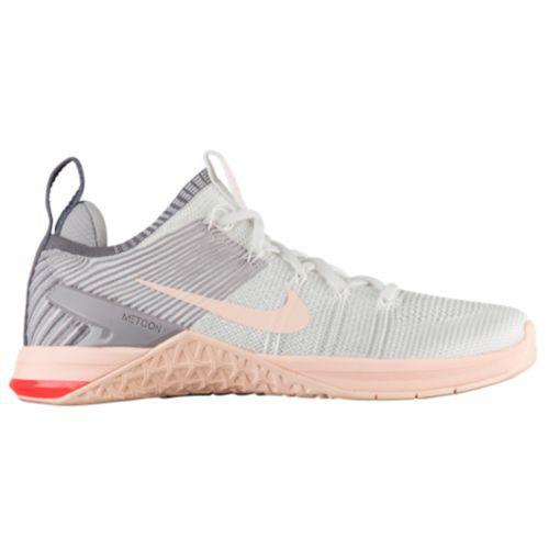 (取寄)ナイキ レディース スニーカー トレーニングシューズ メトコン DSX フライニット 2 Nike Women's Metcon DSX Flyknit 2 White Crimson Tint Atmosphere Grey