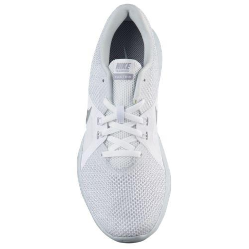 37be4a21d1dd (order) Nike Lady s sneakers training shoes flextime trainer 8 Nike Women s  Flex Trainer 8 White Metallic Silver