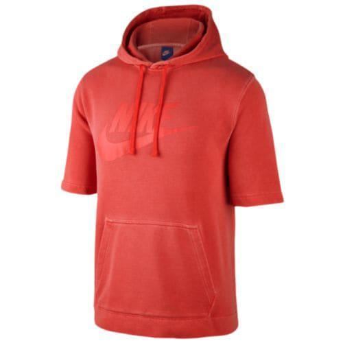 (取寄)ナイキ メンズ パーカー ウォッシュ プルオーバー フーディ Nike Men's Wash Pullover Hoodie Habenero Red Ember Glow White