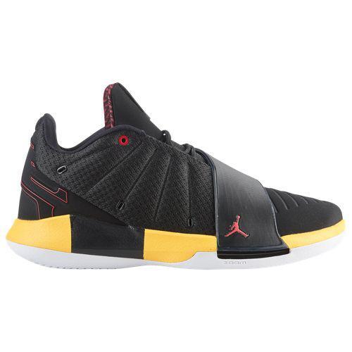 (取寄)ジョーダン メンズ バッシュ クリスポール CP3 XI Jordan Men's CP3.XI Black University Red White Tour Yellow