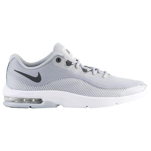(取寄)ナイキ メンズ スニーカー バッシュ エアマックス アドバンテージ 2 バスケットシューズ Nike Men's Air Max Advantage 2 Wolf Grey Anthracite Pure Platinum White
