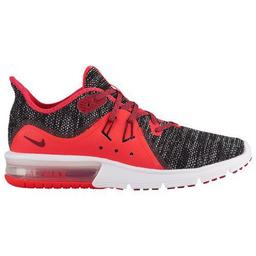 (取寄)ナイキ レディース エアマックス シークエント 3 スニーカー Nike Women's Air Max Sequent 3 Black Red Crush White Red Orbit