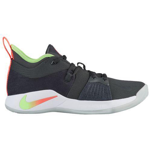 (取寄)ナイキ メンズ バッシュ PG 2 ポール ジョージ バスケットボール Nike Men's PG 2 Paul George Anthracite Hot Punch Wolf Grey Lime Blast