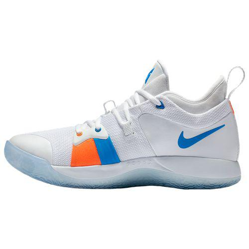2570365b8707 (order) Nike men basketball shoes PG 2 poles George basketball Nike Men s  PG 2 Paul George White Ice