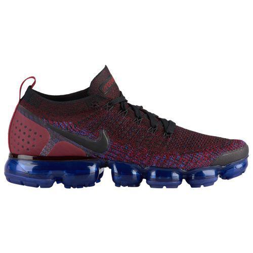 (取寄)ナイキ メンズ スニーカー ランニングシューズ エア ヴェイパーマックス フライニット 2 Nike Men's Air Vapormax Flyknit 2 Black Black Team Red Racer Blue