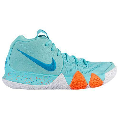 (取寄)ナイキ メンズ バッシュ カイリー 4 カイリー アービング バスケットボール Nike Men's Kyrie 4 Kyrie Irving Light Aqua Neo Turq