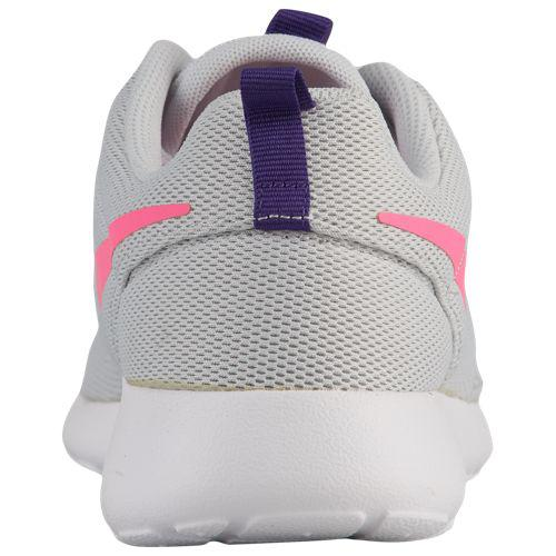 finest selection 99609 0eb53 (order) ナイキレディーススニーカーローシワン Nike Women s Roshe One Pure Platinum Laser Pink  Court Purple White