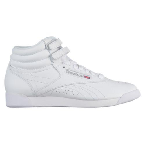 (取寄)リーボック レディース フリースタイル ハイ Reebok Women's Freestyle Hi White Silver