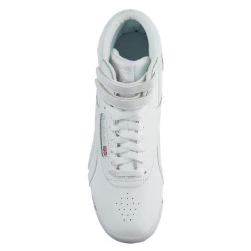 e85fa9da81e (order) Reebok Lady s free-style high Reebok Women s Freestyle Hi Retro  White Bunker Blue Primal Red Skull Grey