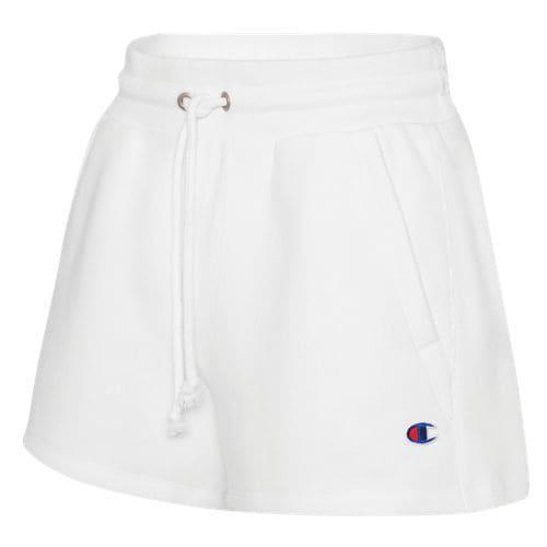 (取寄)チャンピオン レディース フリース ショーツ Champion Women's Fleece Shorts White
