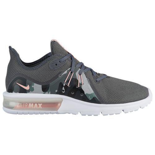 (取寄)ナイキ レディース スニーカー ランニングシューズ エアマックス シークエント 3 Nike Women's Air Max Sequent 3 Dark Grey Storm Pink Black White