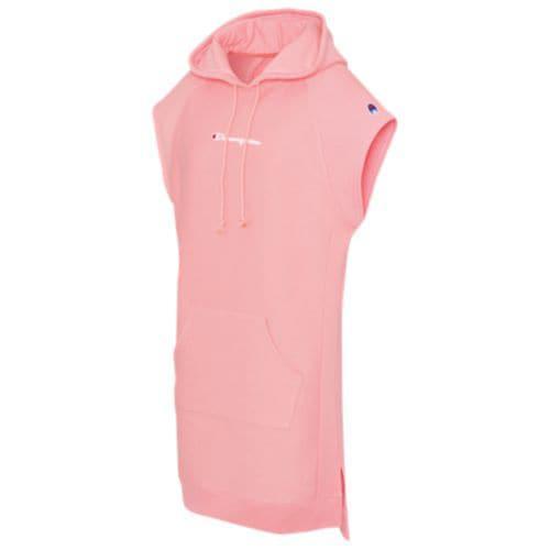 (取寄)チャンピオン レディース フーディ ドレス Champion Women's Hoodie Dress Pink Bow