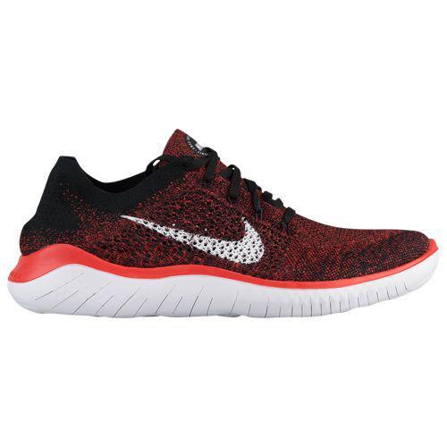 (取寄)ナイキ メンズ フリー RN フライニット 2018 Nike Men's Free RN Flyknit 2018 Bright Crimson White Black