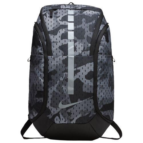 (取寄)ナイキ メンズ フープ エリート マックス エア AOP バックパック Nike Hoop Elite Max Air AOP Backpack Gunsmoke Black Metallic Cool Grey