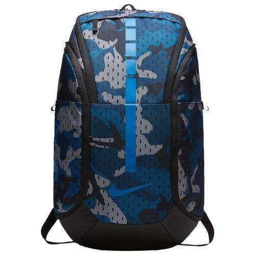 (取寄)ナイキ メンズ フープ エリート マックス エア AOP バックパック Nike Hoop Elite Max Air AOP Backpack Gym Blue Black Signal Blue