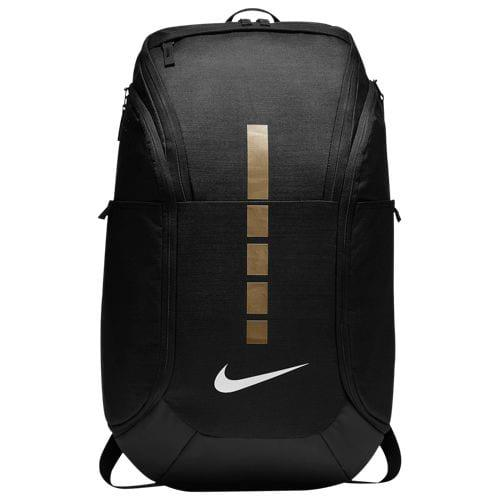 (取寄)ナイキ メンズ フープ エリート プロ バックパック Nike Hoops Elite Pro Backpack Black Metallic Gold