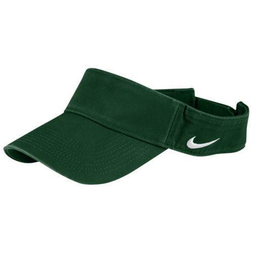 (order) Nike men team classical music visor Nike Men s Team Classic Visor  Dark Green d4a15f7c139