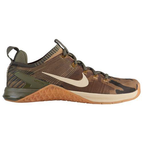 (取寄)ナイキ メンズ スニーカー トレーニングシューズ メトコン DSX フライニット 2 Nike Men's Metcon DSX Flyknit 2 Olive Canvas Neutral Olive Gum Medium Brown