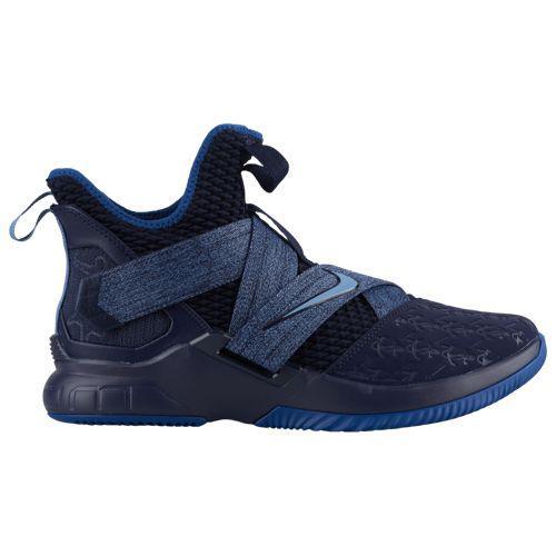 (取寄)ナイキ メンズ レブロン ソルジャー 12 レブロン ジェームズ Nike Men's LeBron Soldier XII Lebron James Work Blue Blackend Blue Gym Blue