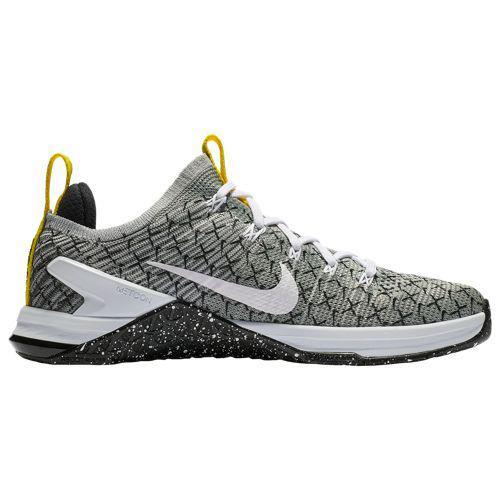 (取寄)ナイキ レディース メトコン DSX フライニット 2 Nike Women's Metcon DSX Flyknit 2 Black White Dynamic Yellow
