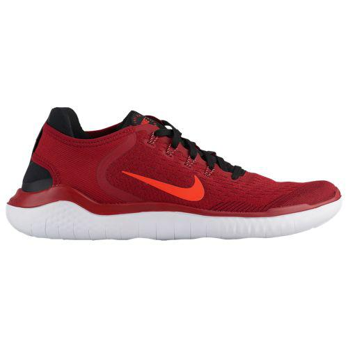 (取寄)ナイキ メンズ フリー RN 2018 Nike Men's Free RN 2018 Gym Red Bright Crimson Black Team Red White