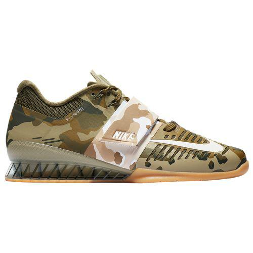 (取寄)ナイキ メンズ ロマレオス 3 Nike Men's Romaleos 3 Olive Canvas Neutral Olive Gum Medium Brown