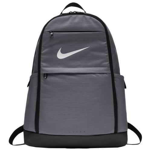 (取寄)ナイキ メンズ ブラジリア エックスラージ バックパック Nike Brasilia X-Large Backpack Flint Grey Black White